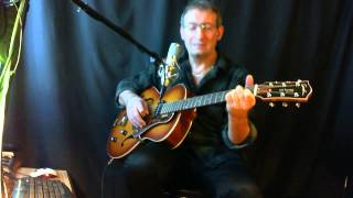 tu as le look coco chant guitare acoustic by Dadymilles