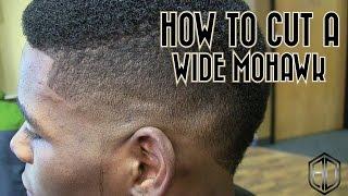 How To Cut A Mohawk Fade | Barber Tutorials