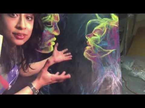 Art Studio Tour - Meet Artist Alizey Khan!