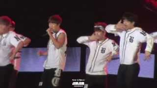 130914 Incheon sky festival BTS Jimin N.O multi cam