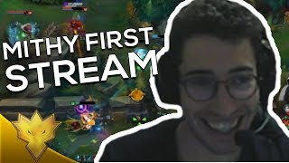 TSM Mithy FIRST STREAM ft. G2 Perkz - League of Legends Stream Highlights