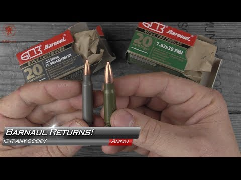 Should You Use Steel Cased Ammo? Barnaul Example