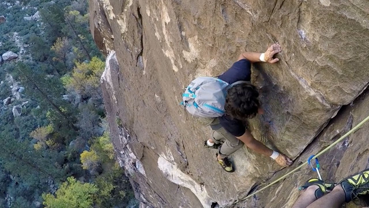 free solo climber died