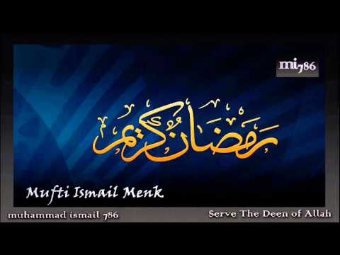 Mufti Ismail Menk - Trade with Allah Excessively in Ramadhan