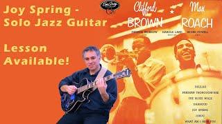 Joy Spring, Clifford Brown & Max Roach - fingerstyle jazz guitar arrangement by Jake Reichbart