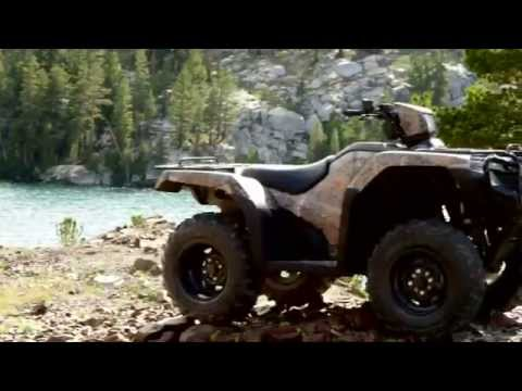 2014 Honda: New Rancher and Foreman ATVs