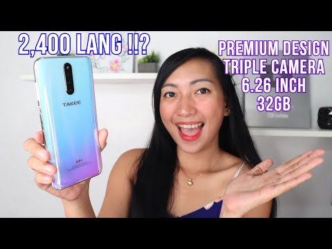 TAKEE A9+ - UNBOXING & REVIEW (ML,CAMERA,BATTERY & HEATING)