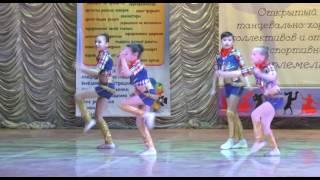 танец кантри 15,05,2016 Уральск первое место