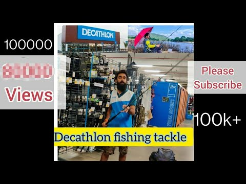 Introduction To Decathlon Fishing Tackle Store, Budget Caperlan Fishing Rod And Reels Starts 999 Rs.