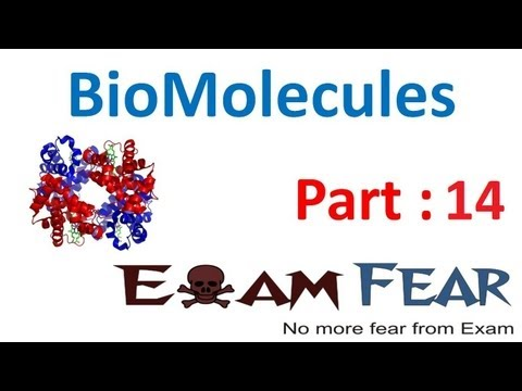Chemistry Biomolecules part 14 (Proteins: zwitter ions, optical activity) CBSE class 12 XII