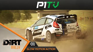 DiRT Rally - Action & Slow Motion Clip #01