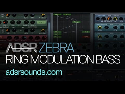U-he Zebra tutorial - Make Crazy Bass Sounds With The Ringmodule