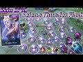 New Skin Epic Selena Thunder Flash Gameplay With No Cooldown - Mobile Legends