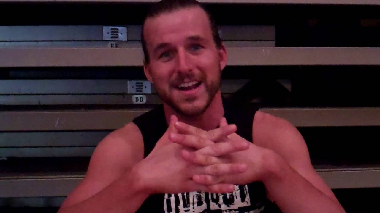 Adam Champ champ adam cole interview at ring of honor in fort lauderdale oct. 2016