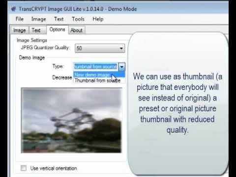 Encrypting JPEG image using X.509 certificate