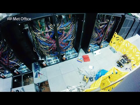 Installation of the final phase of the Met Office Supercompu