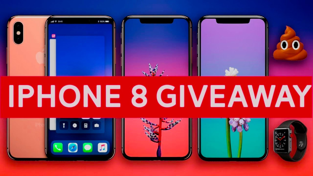 FREE iPhone 8 Giveaway 2018 - YouTube