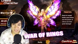 War Of Rings - Archer Gameplay - Mobile Game