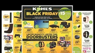Best Deals in the Kohl's Black Friday Ad 2017