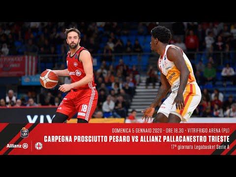 Carpegna Prosciutto Pesaro Vs Allianz Pallacanestro Trieste | LBA 17° Giornata