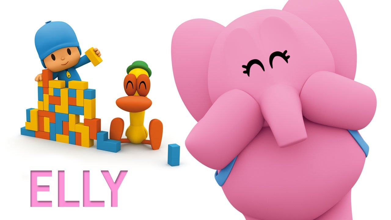La nostra amica elly 🐘 minuti con pocoyo e elly cartoni