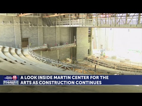 FIRST LOOK: ETSU says Martin Center for the Arts on track to open in 2020