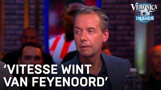 Johan Derksen voorspelt: 'Vitesse wint van Feyenoord'