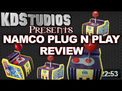NAMCO Pac-Man PLUG AND PLAY Review - Jakks Pacific Plug N Play TV Games 5 In 1
