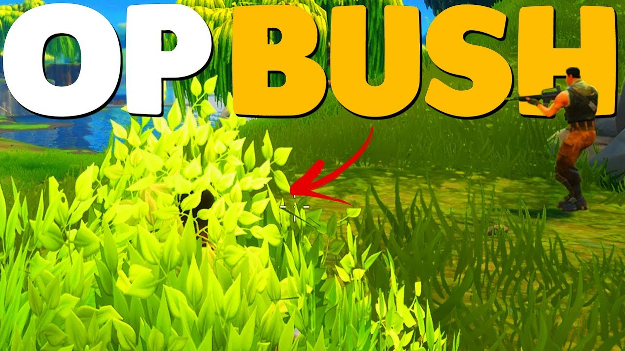 how to get a legendary bush fortnite battle royale - how to take the bush off in fortnite ps4