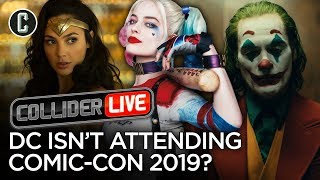 DC Pulls Out of Hall H This Year at Comic-Con - Collider Live #150