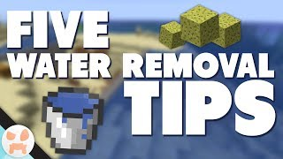 WATER REMOVAL TIPS! | Monument & Large Scale Draining