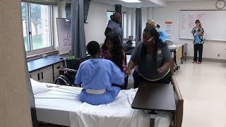 Young Adults Sought to Become Certified Nursing Assistants