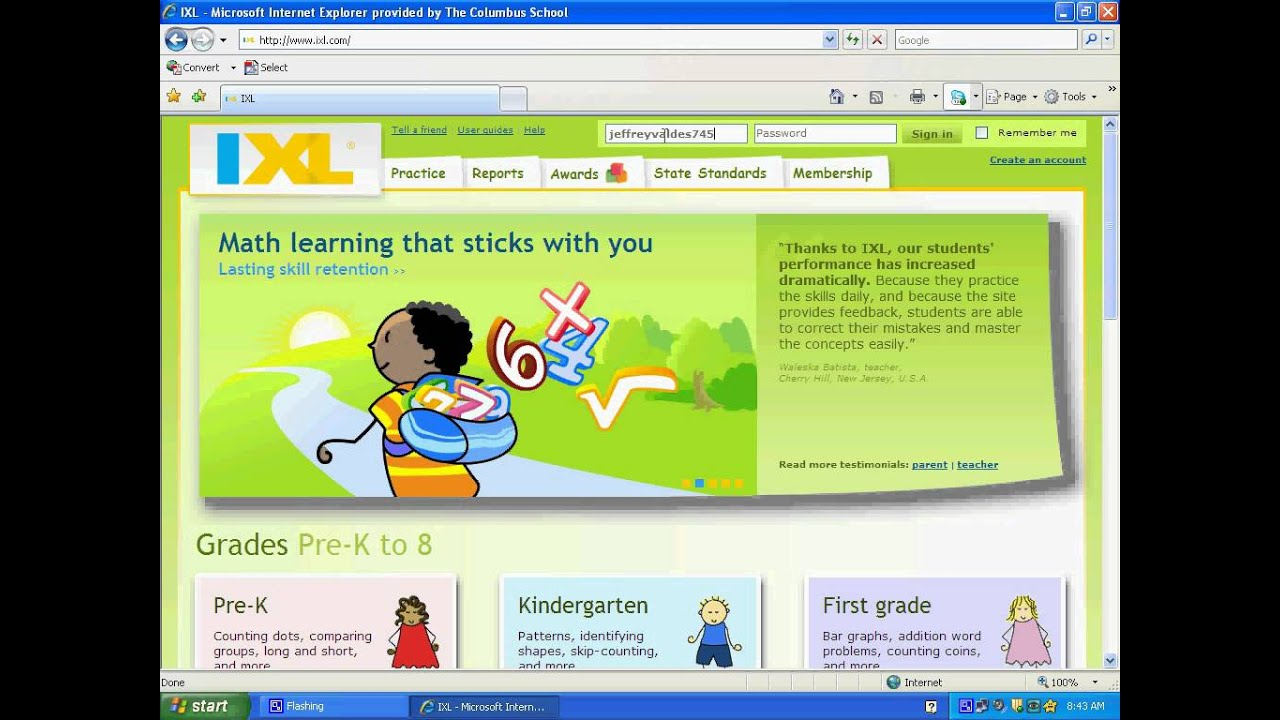 How to sign in ixl... - YouTube