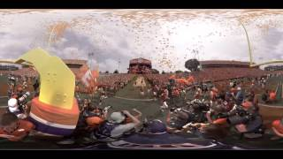 Clemson Football || 360-Degree Experience at Memorial Stadium