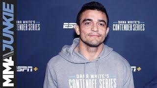 DWCS 23: Andre Muniz post fight interview