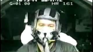 Перегрузка 9g. Пилот теряет сознание