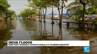 India floods severely affect Kerala