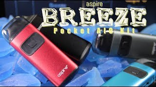 New BREEZE Pocket AIO Kit by Aspire (ALL IN ONE MOD REVIEW)