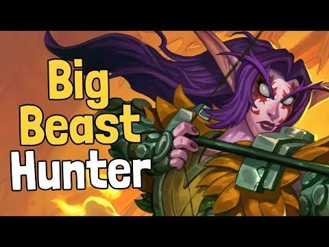 Big Beast Hunter by Kibler Deck Spotlight - Hearthstone