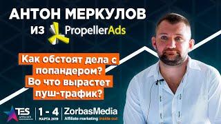 [RUS SUB] TES 2019. Антон Меркулов из PropellerAds о попандер-трафике!