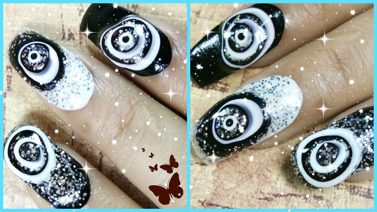Easy nail art videos designs step by step at home on youtube youtube easy nail art videos designs step by step at home on youtube prinsesfo Images