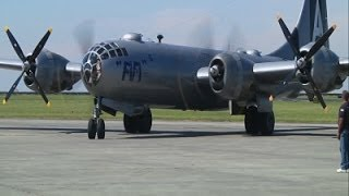 World War II Airmen Fly Again in B-29 Bomber