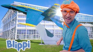 Blippi Visits The Museum of Flight | Learn About Planes For Kids | Educational Videos for Toddlers