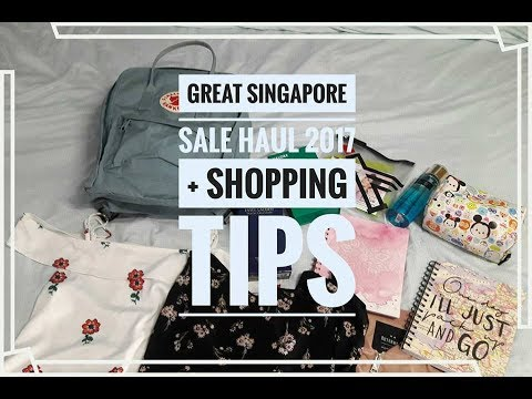 Great Singapore Sale Haul 2017 + How to score some of  these deals!