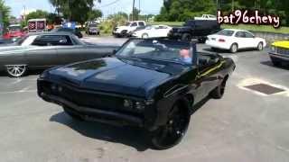 "ULTIMATE AUDIO: SUPERCHARGED LS3 1969 Impala on 26"" Forgiatos - 1080p HD"
