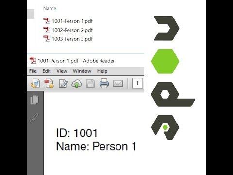 Create PDF in File System using Node