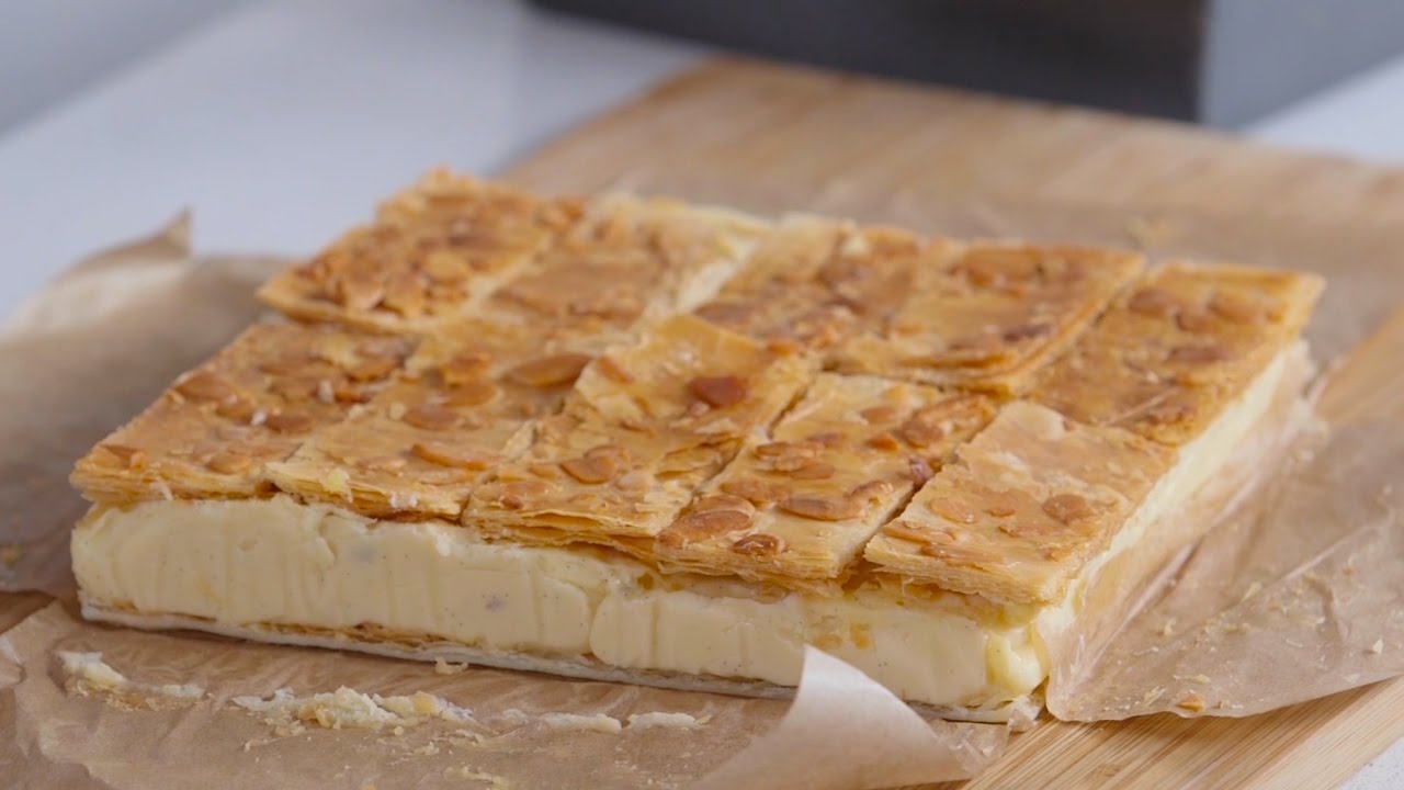 How to make custard slices bbc good food youtube how to make custard slices bbc good food forumfinder Image collections