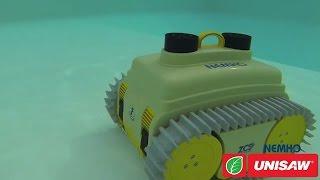 Робот пылесос для бассейна! Caiman Nemo - автоматическая очистка бассейна в любое время суток