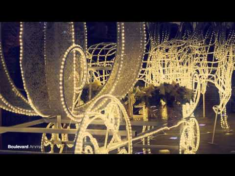 Boulevard Amman Christmas Night 2014