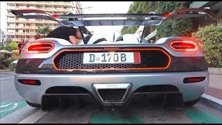 1360HP Koenigsegg One:1 LOUD Start Up and Leaving!